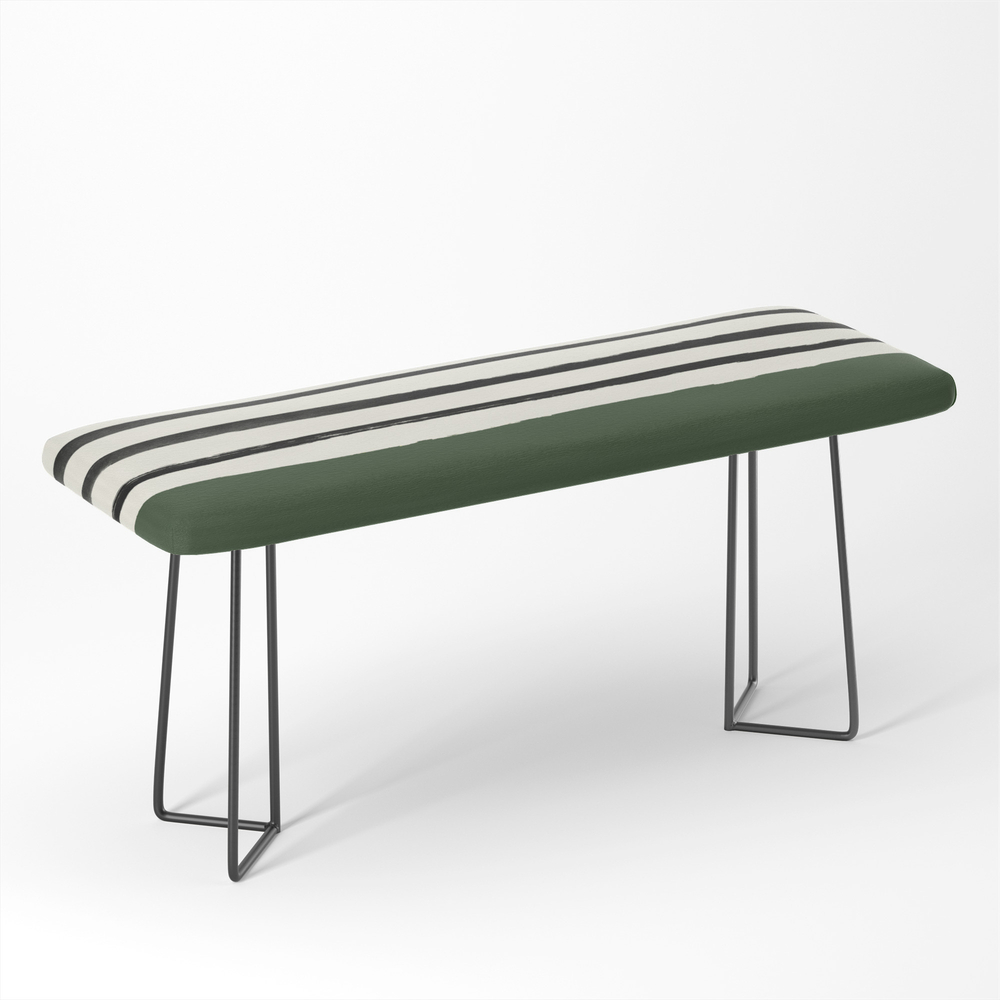 Forest_Green_x_Stripes_Bench_by_floresimagespdx