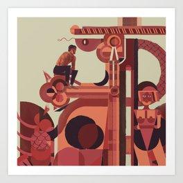 SKINWALKER Art 2 Art Print