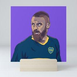 Daniele De Rossi Boca Juniors Mini Art Print