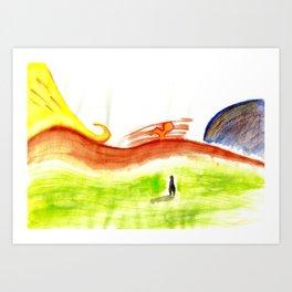 Landscape#1 Art Print