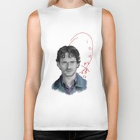will graham Biker Tanks featuring Hannibal - Will Graham by firatbilal