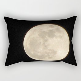 Lunar Beauty 1...Original Photography Rectangular Pillow