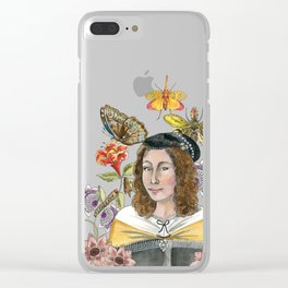 Maria Sibylla Merian Clear iPhone Case