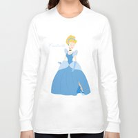 cinderella Long Sleeve T-shirts featuring Cinderella  by Fraopic