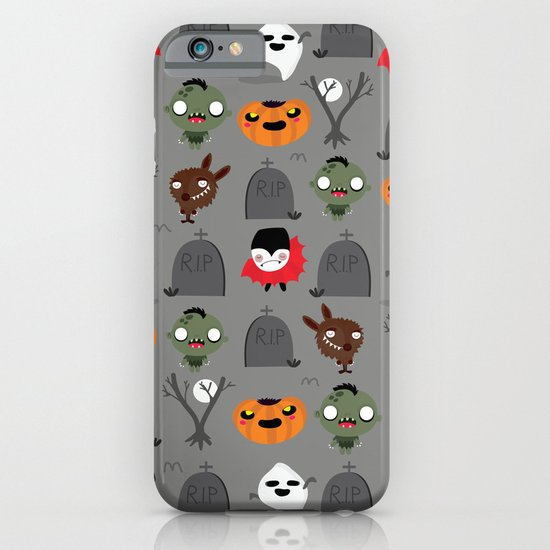Not that spooky halloween iPhone & iPod Case