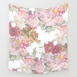 Repeated flower pattern Wall Tapestry