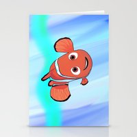 nemo Stationery Cards featuring Nemo by paulusjart