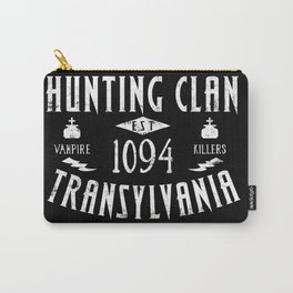 Geeky Gamer Chic Castlevania Inspired Belmont Family Hunting Clan Carry-All Pouch