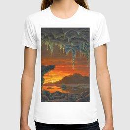 Classical Masterpiece 'Maquette pour un Décor Grotte Arctique' by Ivan Fedorovich Choultsé T-shirt