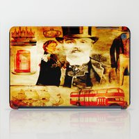 england iPad Cases featuring England Vintage  by Ganech joe
