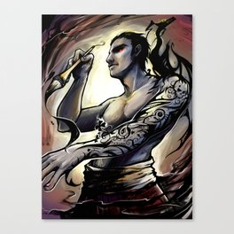 Inkmaster Canvas Print
