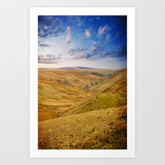 Down on the Valley Art Print