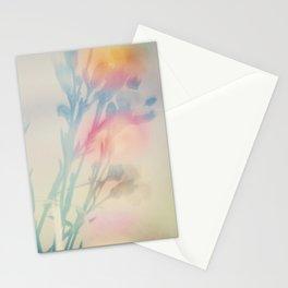 Rainbow Carnations Stationery Cards
