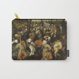 Pieter Brueghel Ii - Peasant Wedding Dance. Carry-All Pouch