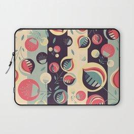 50's floral pattern II Laptop Sleeve