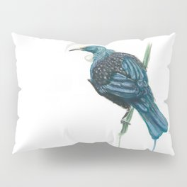 The Parson Bird aka Tui Pillow Sham