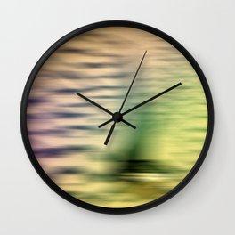 Safari Bird Abstract Wall Clock