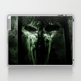 The Evil Woodboard  Laptop & iPad Skin