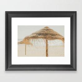 beach dreams Framed Art Print
