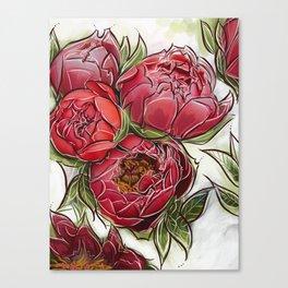 Red Dreams Canvas Print