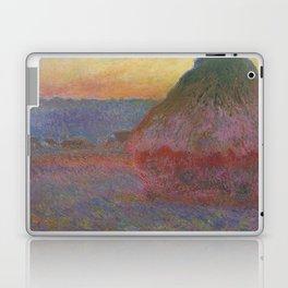"Claude Monet ""Haystack (Meule)"" Laptop & iPad Skin"