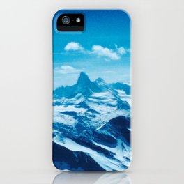 Winter Wonderland up in the Mountains #1 #art #society6 iPhone Case
