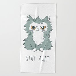 Stay Away Beach Towel