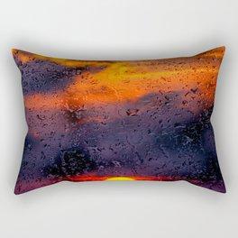Concept sunset : Rainy sunset Rectangular Pillow