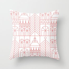 Muuri Throw Pillow