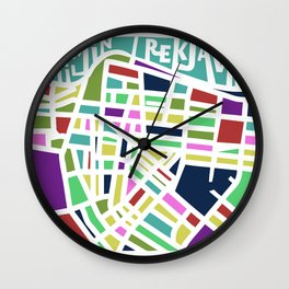 Welcome to Reykjavik Wall Clock