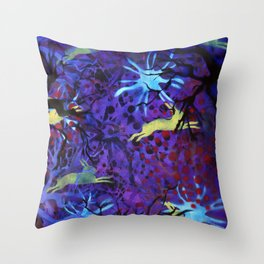 Dreamy nights Throw Pillow