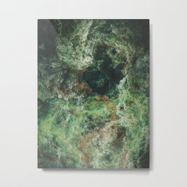 The Green Lake Metal Print