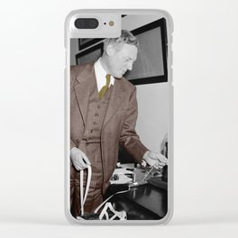 Stockbroker Clear iPhone Case
