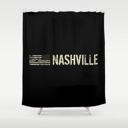 Black Flag: Nashville Shower Curtain