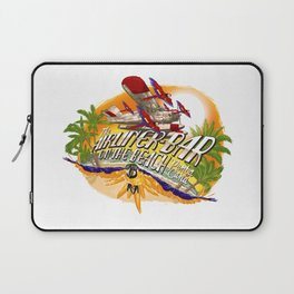 Airliner Bar On The Beach Laptop Sleeve