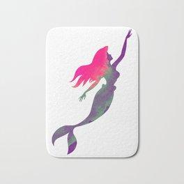 The Little Mermaid, Ariel, Watercolour Bath Mat