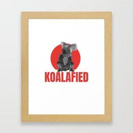 Highly Koalafied Ironworker design Funny product Framed Art Print