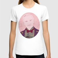budapest hotel T-shirts featuring The Grand Budapest Hotel II by Itxaso Beistegui Illustrations