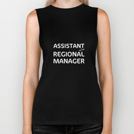Assistant to The Regional Manager Funny Worker T-Shirt Biker Tank