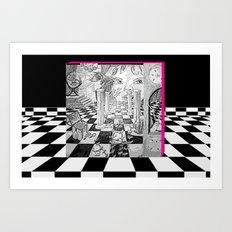 Jared Art Print