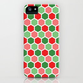 Holiday Hexies iPhone Case