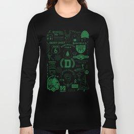 Dartmouth Massachusetts Print Long Sleeve T-shirt