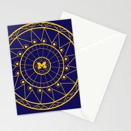 Michigan Mandala Stationery Cards
