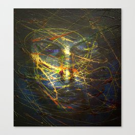 Ghost face 2 Canvas Print