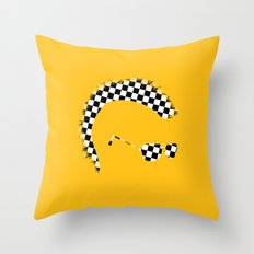 God's Lonely Man Throw Pillow