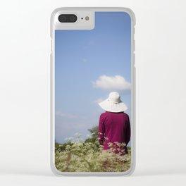 Summer II Clear iPhone Case