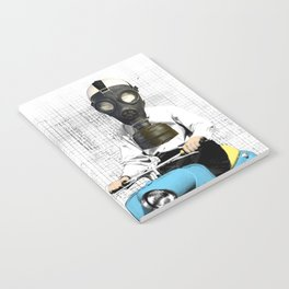 Vespa Man Notebook