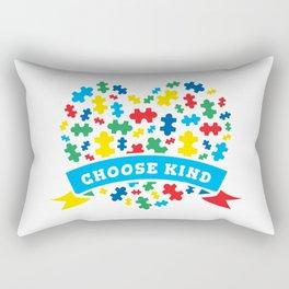 Autism Puzzle Awareness Gift For Autistic Child Rectangular Pillow