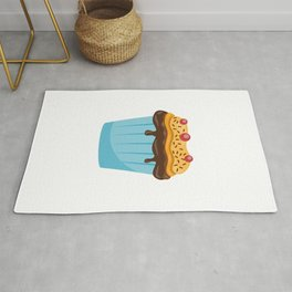 Funny Stud Muffin Electrician Husband design Rug