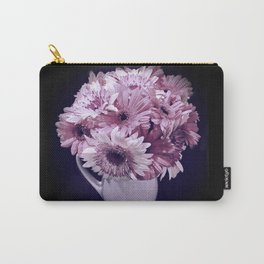 Lavender Bouquet in a Ceramic Pitcher Carry-All Pouch